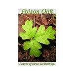 Poison Oak Rectangle Magnet
