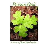 Poison Oak Postcards (Package of 8)