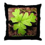 Poison Oak Throw Pillow