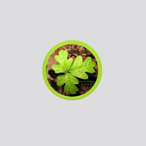 Poison Oak Mini Button