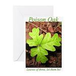 Poison Oak Greeting Card