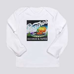 Peaches Records and Tapes logo Long Sleeve T-Shirt