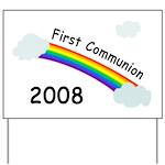 1st Communion Yard Sign