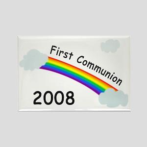 1st Communion Rectangle Magnet