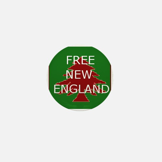Cute New england Mini Button
