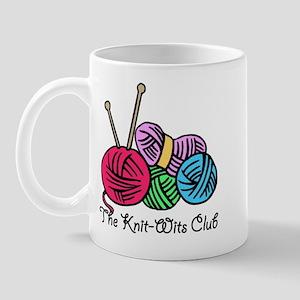 Knit Wits Club Mug