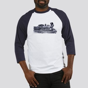 Locomotive (Blue) Baseball Jersey