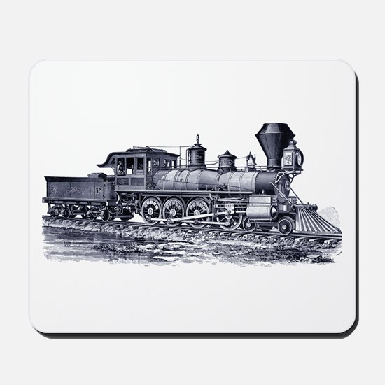 Locomotive (Blue) Mousepad