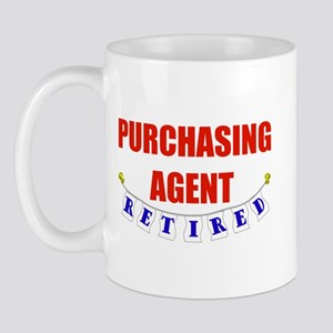 Retired Purchasing Agent Mug