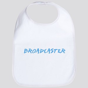 Broadcaster Profession Design Baby Bib
