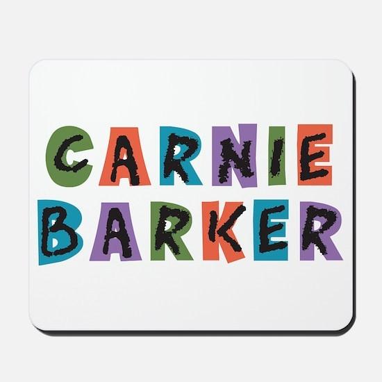 Carnival Carnie Barker Mousepad