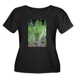 Horsetail Equisetum Women's Plus Size Scoop Neck D