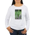 Horsetail Equisetum Women's Long Sleeve T-Shirt
