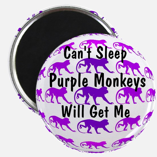 Can't Sleep Monkeys Will Get Magnet