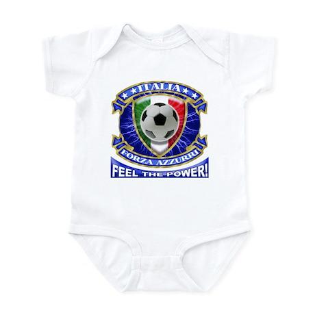 Italia Soccer Power T-Shirts Infant Bodysuit