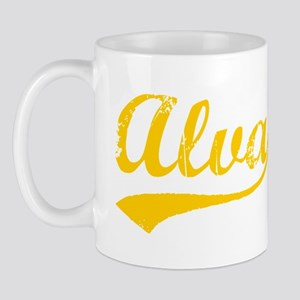 Vintage Alva (Orange) Mug