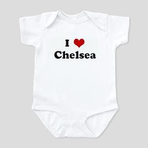 I Love Chelsea Infant Bodysuit