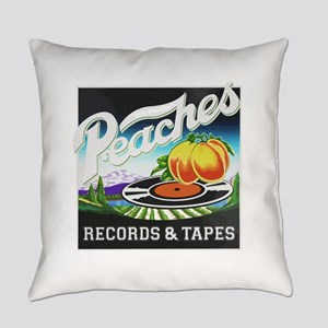 Peaches Records and Tapes logo Everyday Pillow