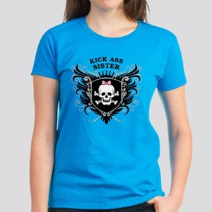 Kick Ass Sister Women's Dark T-Shirt