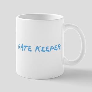 Gate Keeper Profession Design Mugs