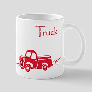 The Red Truck Mug