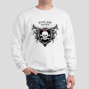 Kick Ass Aunt Sweatshirt