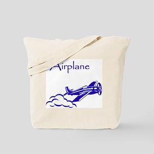 The Blue Plane Tote Bag