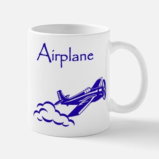 The Blue Plane Mug