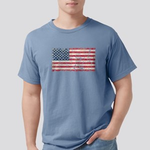 US Flag Distressed T-Shirt