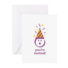 """You're Invited!"" Greeting Cards (10 Pk)"