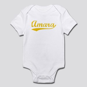 Vintage Amara (Orange) Infant Bodysuit