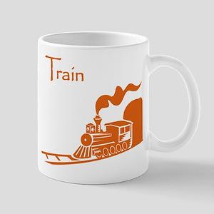 The Orange Train Mug