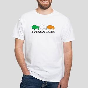BUFFALO IRISH White T-Shirt