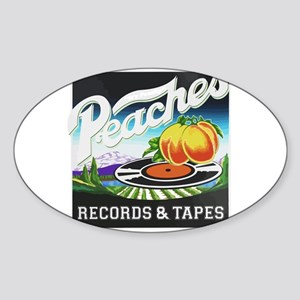 Peaches Records and Tapes logo Sticker