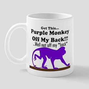 Monkeyoffmyback Mug
