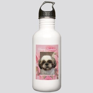Happy Birthday Shih Tz Stainless Water Bottle 1.0L