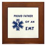 EMT Father Framed Tile