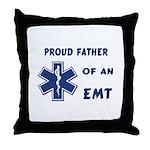 EMT Father Throw Pillow
