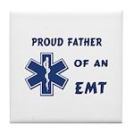 EMT Father Tile Coaster