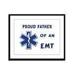 EMT Father Framed Panel Print