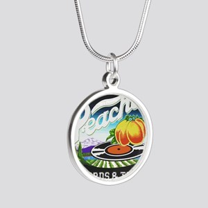 Peaches Records and Tapes logo Necklaces