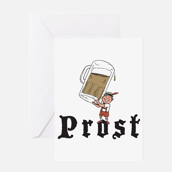 Prost Greeting Card