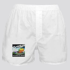 Peaches Records and Tapes logo Boxer Shorts