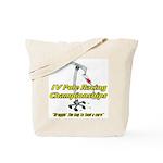 IV Pole Racing Championships Tote Bag