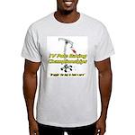 IV Pole Racing Championships Ash Grey T-Shirt