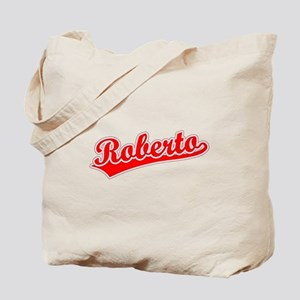 Retro Roberto (Red) Tote Bag