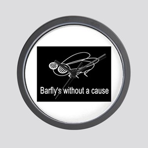 BARFLY'S WITHOUT A CAUSE Wall Clock
