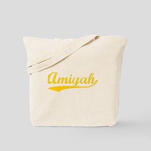 Vintage Amiyah (Orange) Tote Bag
