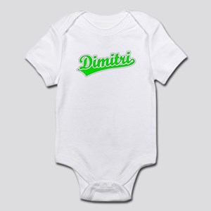Retro Dimitri (Green) Infant Bodysuit