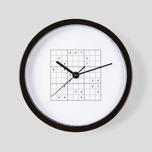Sudoku - Wall Clock